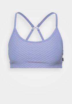 Cotton On Body - WORKOUT YOGA CROP - Sport-BH mit leichter Stützkraft - periwinkle