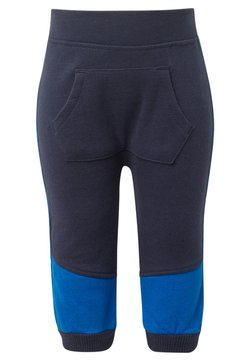 TOM TAILOR - MIT KÄNGURUTASCHE - Trainingsbroek - blue