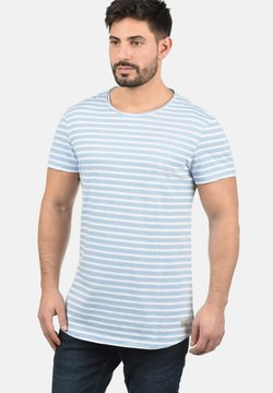Blend - GENESIS - T-Shirt print - light blue