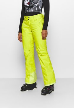 Patagonia - INSULATED SNOWBELLE PANTS - Spodnie narciarskie - chartreuse