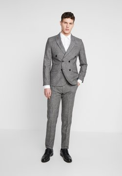 Shelby & Sons - KIRKHAM SUIT DOUBLE BREASTED  - Anzug - grey