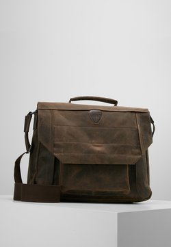 Strellson - HUNTER BRIEFBAG - Notebooktasche - dark brown