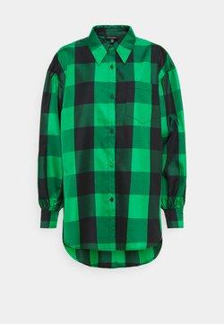 Who What Wear - DROP PUFF SLEEVE - Hemdbluse - green
