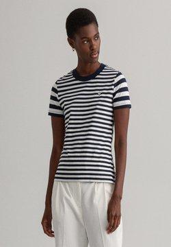 GANT - T-Shirt print - evening blue