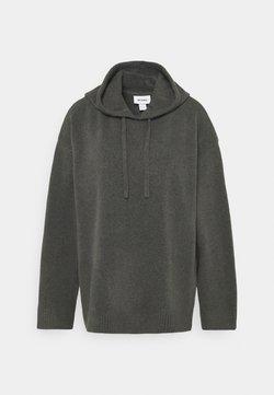 Monki - MARY HOODIE - Jersey con capucha - grey dark