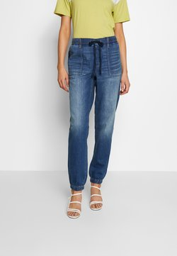 American Eagle - JOGGER - Jeans baggy - rustic blue