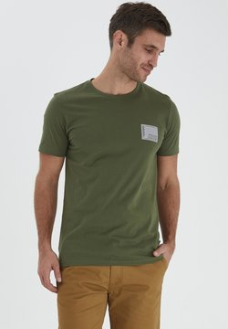 Solid - SDDAVE SS T-SHIRT - Printtipaita - ivy green