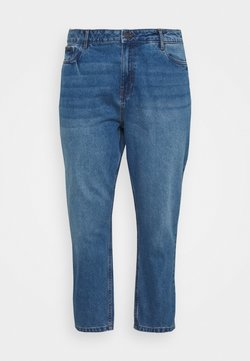 Noisy May Curve - NMISABEL MOM - Jeans Relaxed Fit - medium blue denim