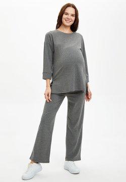 DeFacto - Pantalones deportivos - grey