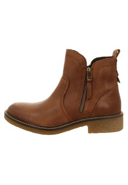 camel active - Ankle Boot - cognac