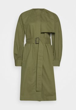 Who What Wear - COLLARLESS TRENCH - Trenchcoat - olive