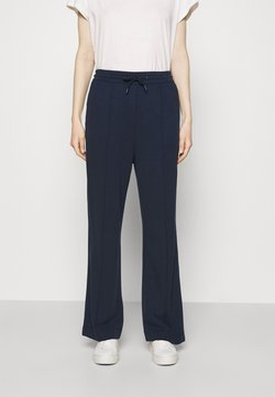 Marc O'Polo DENIM - THE WIDE LEG PANTS - Jogginghose - scandinavian blue
