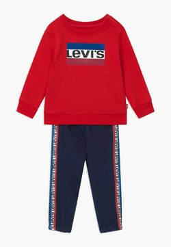 Levi's® - CREW SET - Survêtement - red/dark blue