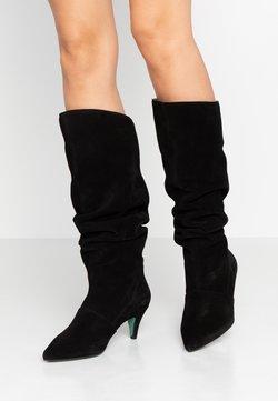 LAB - Klassiska stövlar - black