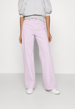 Monki - YOKO - Straight leg -farkut - lilac purple light