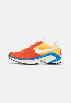Nike Sportswear - D/MS/X WAFFLE - Sneaker low - mantra orange/white/laser orange/photo blue/sail