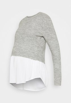 Ripe - MANDY DETACHABLE NURSING - Jersey de punto - grey marle