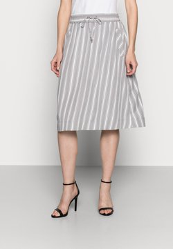 More & More - SKIRT SHORT - A-Linien-Rock - new grey