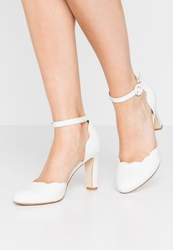 Anna Field - LEATHER PUMPS - Korolliset avokkaat - white