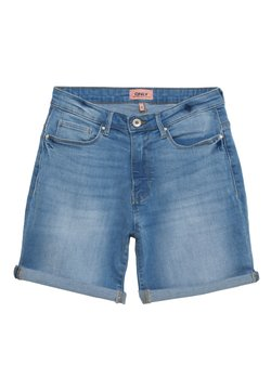 ONLY - ONLPAOLA - Shorts di jeans - light blue denim