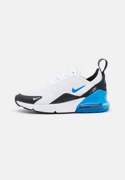 Nike Sportswear - AIR MAX 270 UNISEX - Sneakersy niskie - white/signal blue/black