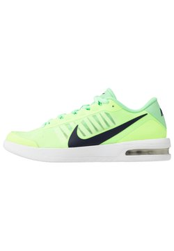 Nike Performance - COURT AIR MAX VAPOR WING MS - Tennisschoenen voor alle ondergronden - ghost green/blackened blue/aphid green