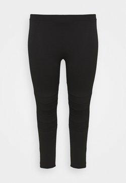 Evans - PONTE STITCH - Leggings - black
