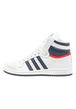 adidas Originals - TOP TEN  - Sneaker high - neo white/new navy/collegiate red
