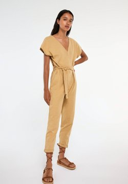 PULL&BEAR - Overall / Jumpsuit - camel