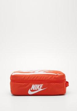 Nike Sportswear - SHOEBOX - Sports bag - orange/orange/white