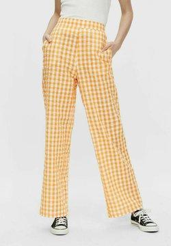 Pieces - Pantaloni - yellow