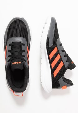 adidas Performance - TENSAUR RUN UNISEX - Laufschuh Neutral - core black/solar red/grey six
