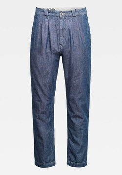 G-Star - VARVE RELAXED PLEATED - Jean boyfriend - faded navy
