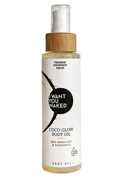 I WANT YOU NAKED - COCO GLOW OIL - Körperöl - -