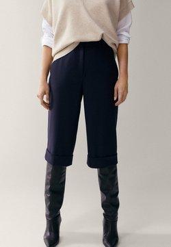 Massimo Dutti - Shorts - dark blue