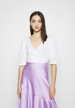 Monki - ULLA  - T-Shirt print - white light
