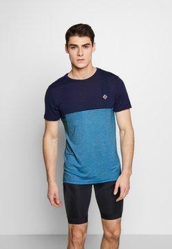 Triple2 - TUUR NUL MEN - T-Shirt print - mykonos blue