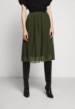 Bruuns Bazaar - THORA VIOLET SKIRT - A-line skjørt - olive green