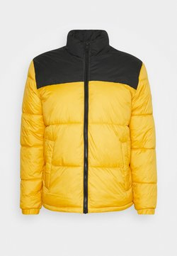 Jack & Jones - PUFFER COLLAR - Winterjacke - spicy mustard