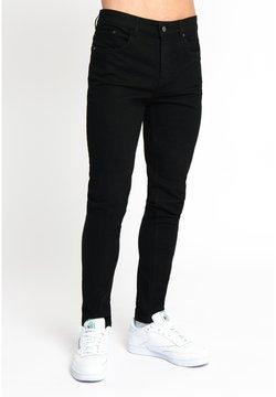 Urban Threads - Slim fit jeans - black