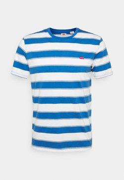 Levi's® - ORIGINAL TEE - T-Shirt basic - blue/white