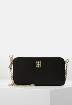 Tommy Hilfiger - CITY MINI CROSSOVER - Pikkulaukku - black