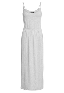Even&Odd - BASIC MAXIKLEID - Maxi-jurk - mottled light grey