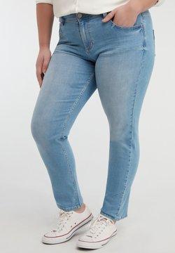MS Mode - ROSE - Slim fit jeans - blue