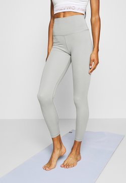 Nike Performance - THE YOGA 7/8 - Tights - particle grey/heather/platinum tint