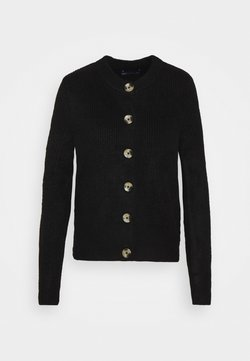 Marks & Spencer London - SPONGEY CARDI - Cardigan - black