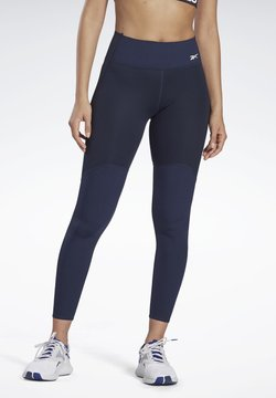 Reebok - LES MILLS® PUREMOVE LEGGINGS - Tights - blue