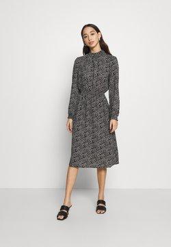 ONLY - ONLNOVA LUX SMOCK BELOW KNEE DRESS - Day dress - black
