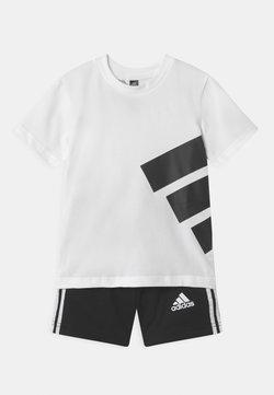 adidas Performance - BRAND SET UNISEX - Krótkie spodenki sportowe - white/black