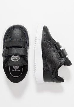 adidas Originals - SUPERCOURT CF - Matalavartiset tennarit - core black/footwear white